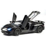 New              Alloy Metal Lamborghimi Aventador SV LP750-4 Car Diecast Model Car Toy for Children Gift