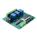 New              YYS-4 3 Channel Programmable Relay Control Module Trigger Delay/Timer/Self-latching/Interlock Switch Relay Board