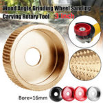 New              75mm Carving Disc 16mm Bore Steel Grinding Wheel Sanding Abrasive Rotary Tool for Angle Grinder