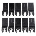 New              1Pc/10Pcs/20Pcs 34mm Durable Oscillating Multi Tools Saw Blade Long / Short Sawtooth