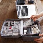 New              Digital Accessories Storage Bag USB Charger USB Cable U Disk Organizer Travel Bag
