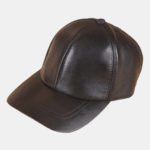 New              Men Vintage Genuine Leather Baseball Caps