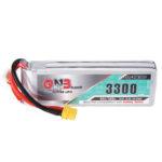 New              Gaoneng GNB 14.8V 3300mAh 90C 4S Lipo Battery XT60 Plug for for Fixed Wing Vehicle RC Model
