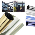 New              1/3/5M*50CM Window Glass Film 15 Percent VLT Privacy One Way Mirror UV Resistant Home Film