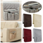 New              Sofa Couch Desktop Armrest Organizer TV Remote Control Holder Storage Bag Pouch Pocket