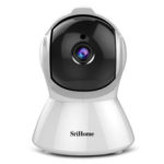 New              SriHome SH025 1080P IP Camera AI Auto-Tracking Night Version Smart Motion Tracking Rotation Wireless Security Camera