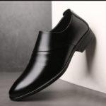 New              Men Microfiber Non Slip Formal Shoes