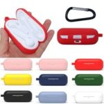 New              Bakeey Portable Shockproof Dirtproof Silicone Wireless bluetooth Earphone Storage Case with Keychain for Huawei FreeBuds Lite