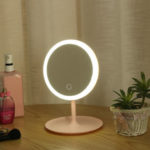New              2 in 1 LED Makeup Mirror Light Lamp Rechargeable Brightness Adjustable HD Makeup Daylight Cosmetics Mirror