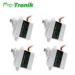 New              4 PCS PTK 5g Digital Servo 7350 MG-D Metal Gear For EPP E3P Airplane Indoors Mini RC Drone Aircraft Helicopter