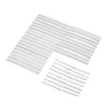New              720Pcs 1206 SMD Capacitor Assorted Kit 36 Values 1pF~10uF Samples Kit