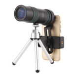 New              8-24X High Zoom Monocular BAK4 Prism HD Optical Lens Telescope Low Light Night Vision With Tripod Clip