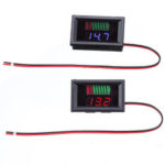 New              12V Car Lead Acid Battery Charge Level Indicator Battery Tester Capacity Meter Dual LED Tester Digital Voltmeter