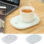 New              USB Cup Mug Warmer Coffee Tea Milk Drink Heater Pad 16W 55℃ Thermostatic Cup Mat