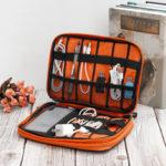 New              Waterproof Digital Accessories Storage Bag USB Data Cable Earphone Wire Flash Drive Pen Power Bank Travel Storage Bag