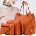 New              Women Leather Handbag Shoulder Bucket Bag Messenger Satchel Evening Tote