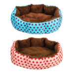 New              Cat Dog Pet Bed Soft Nest Puppy Cushion Warm Kennel House Mat Washable Blanket