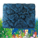 New              Reptile Aquarium Fish Tank Background 3D Rock Stone Board Plate Decorations 60x45cm
