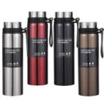 New              1L Stainless Steel Vacuum Cup Camping Travel Sport Thermos Cup Insulated Water Bottle