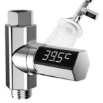 New              LED Digital Shower Temperature Display Water Shower Thermometer Monitor