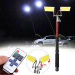 New              Zanlure 3.75m 96W Fishing Lamp Fish Rod LED Light Hunting Emergency Lantern
