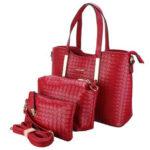 New              3PCS/SET Women Leather Satchel Handbag Shoulder Messenger Crossbody Bag