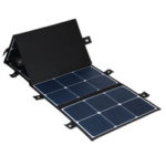 New              Sunpower 300W 18V Foldable 5 Solar Panel Charger Solar Power Bank for Huawei iPhone Samsung
