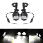 New              2pcs Spot LED Auxiliary Fog Light Driving Lamp Motorcycle For BMW R1200GS F800GS