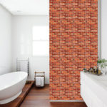 New              24Kind  3D Self adhesive Wallpaper PE Foam Wall Sticker Tile Brick Home Wall Decoration