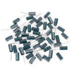 New              50pcs 6.3V 2200UF 10x20MM High Frequency Low ESR Radial Electrolytic Capacitor