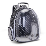 New              Breathable Transparent Pet Travel Backpack Dog Cat Outdoor Carrier Bag For Pet Supplies