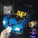 New              DIY LED Light Lighting Kit For LEGO 42083 Bugatti Chiron Technic Set With Remote
