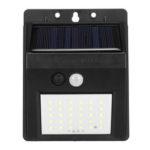 New              30/40 LED IP65 Auto Sensing Solar Light Outdoor Solar Power Wall lamp Waterproof PIR Motion Sensor For Garden Yard Patio