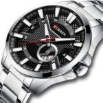New              CURREN 8372 Calendar Luminous Display Men Wrist Watch