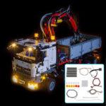 New              LED Light Lighting Kit ONLY For LEGO 42043 Technic For Mercedes-Benz Arocs 3245