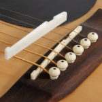 New              Debbie XZ-A1 Buffalo Bone Bridge Saddle And Nut for Acoustic Guitar