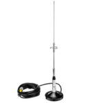 New              3.0 dB Dual Band Car Radio Mobile Station Antenna NL-770S UHF/VHF Walkie Talkie