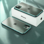 New              Bakeey Plating Matte Ultra-thin Translucent Soft TPU Shockproof Protective Case for iPhone 11 Pro Max 6.5 inch