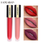 New              HANDAIYAN Matte Lip Gloss Lips Lipstick Long Lasting Liquid