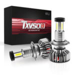 New              TXVSO8 X3 LED Car Headlights Bulbs H7 H8 H9 H11 9012 9006 9005 Fog Lights 120W 30000LM 6000K White Waterproof 360 Degree Lighting 12V 24V