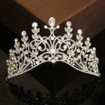New              Wedding Crystal Rhinestone Hair Headband Crown Comb Tiara