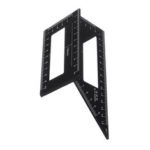 New              Drillpro Aluminum Alloy Woodworking Square Scriber T Ruler 45/90 Degree Angle Ruler Angle Protractor Gauge