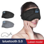 New              Bakeey YR-02 Wireless bluetooth 5.0 Noise Cancelling Relax HIFI Stereo Bass Headset Sleeping Headphone Eye Patch with Mic