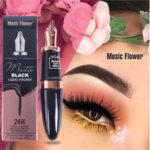 New              Music Flower Waterproof Eyeliner Pen Shape Makeup Cosmetic E