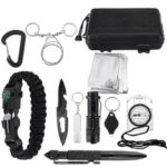 New              Multifunction SOS Emergency Camping Survival Equipment Kit Outdoor Tactical Hiking Gear Multi Tools