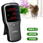 New              Household Laser PM2.5 Monitor Formaldehyde Detector HCHO TVOC Air Quality