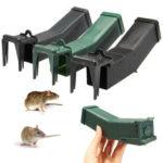 New              Reusable Plastic Mousetrap Not Killing Mouse Trap Catch Bait Capture Humane Mice Rodent Hamster Cage Pest Control