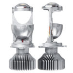 New              G1 46W H4 LED Lens Projector Headlights Bulb High Low Dual Beam 6000K White 2PCS 12V for LHD/RHD Car Motorcycle