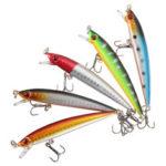 New              ZANLURE 5 Pcs 9cm Fishing Lure Fish Baits Hooks Fishhook Barb