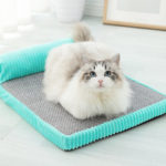 New              Memory Cotton Cat Bed Pet Mat Removable And Washable Kennel Medium  Large Dog Cat Bed Dog Nest